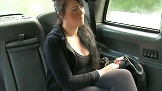 Big bobs customer fucked in_the backseat image