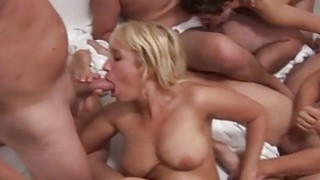 Squirt Orgasm on swinger party image