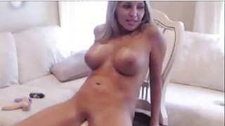 Hot Web Cam Girl Fucks Her Fuck Machine image