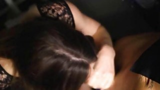 Big tits Samantha Bentley gets fucked hard in the ass image