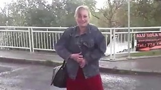 Busty czech_MILF fucks hard with horny taxi driver image