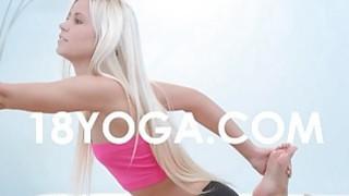 Pervert BF_Photos Nude Teen_In Yoga image