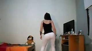 Beautiful latin girl dancing   banging a beautiful nigerian girl image