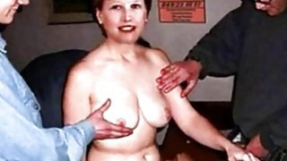 Porn video of Ms Francoise Moreau groped wife tits image