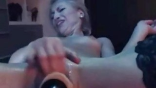 Image: Nasty blondie gets fucked awesome by sex_machine