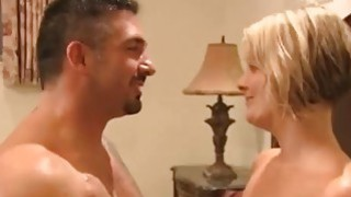 Image: Hot blondies and some drinks turn this reality in a XXX swingers show