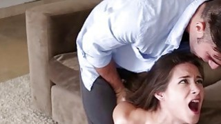 Cassidy Klein gagged and fucked until her_face gets_jizzed image