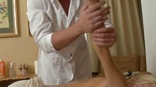 Carnal oil massage makes gal give wet oralservice image