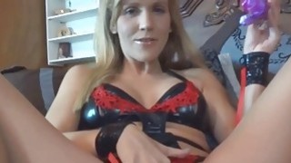 Horny housewife Jolene gets her tight twat fucked image
