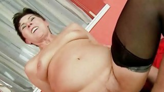 Granny Cock Sucking and Riding Compilation image