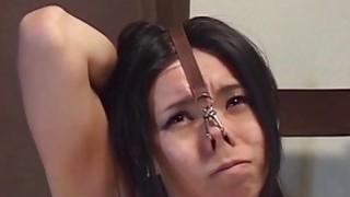 Extreme Japanese BDSM hot wax play subtitled image