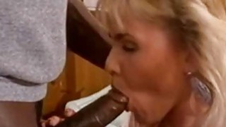 Image: Lauryl Canyon  Blonde Babe Interracial Office Sex