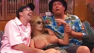 Ron Jeremy is fucking 2 blonde bitch image