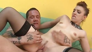 LECHE 69 Skinny bitch_takes_a fat load image
