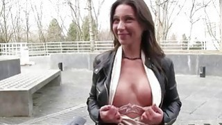Czech slut picked up on the street and fucked image