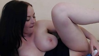 Huge Tits Melissa Toying her Tight Pussy image