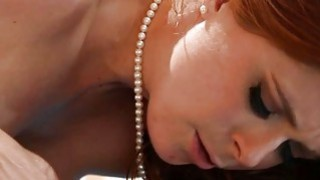 Image: Natural tits Penny Pax massage and lesbosex with Selena