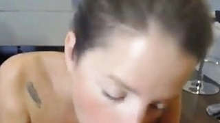 Amateur Chick assfuck and facial image