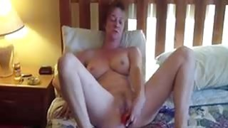 47 years old Peggy enjoys my cock in each hole image