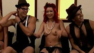 Singles nasty games in Foursome mansion image