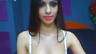 Image: Stunning Latina Deepthroat Blowjob
