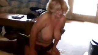Cuckold Wife Sits on a Black Man image