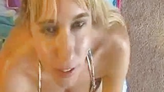 Sneaky Milf Gets A Massive Cumshot From Neighbor image