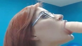 Pretty Webcam Girl Gives Awesome Blowjob image