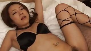 Kanako Tsuchiyo provides serious_blowjob before hard sex image