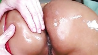 Macho seduces_two sexual babes to_threesome sex image