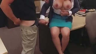 Image: Big titted wife pawns twat to bail out her husband from jail