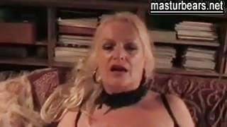 busty and sex crazy German Granny Sandra image