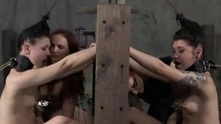 Tied up_cutie receives gratifying for her pussy image