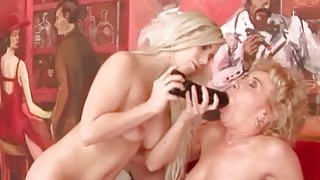 Oldies and Young Girls Lesbian Fuck_Compilation image