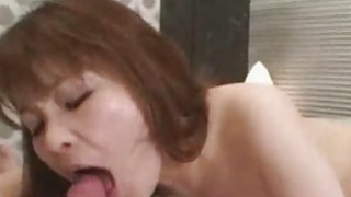 Yuriko Hoshino  JAV Wife Drilled By Young Cock image
