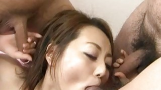 Facial to end?Yuu Shiraishis filthy oral show image