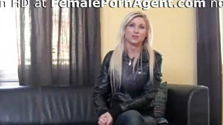 Image: Sexy Blonde Needs A Job In Adult Industry