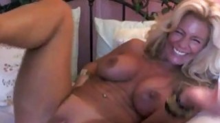 Image: Beautiful Busty Mature Does Some Solo Masturbation with Toys