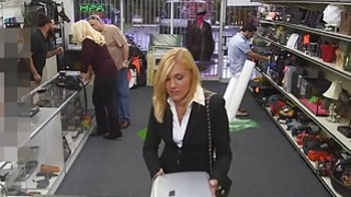 Super Sexy MILF Gets Banged In The Pawnshop image