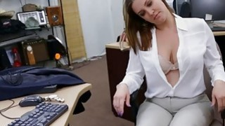 Image: Foxy business woman nailed by pawn man at the pawnshop