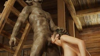 Best rated cum on pantyhose blackmail Mobile movies » 3d scary orcs cum on busty babe! image