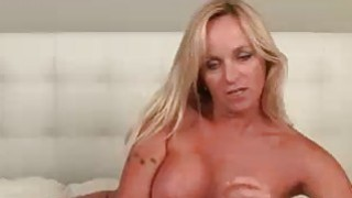Step Mom Wants To Teach Young Guy A Lesson Jerking image
