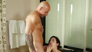 Image: Lucky stud bangs his gorgeous big stacked masseur