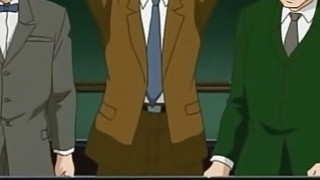 Hentai bunnygirl gets gangbanged image