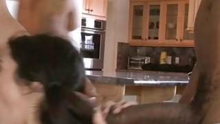 Tight teen skank Lou Charmelle dped by massive black dicks image