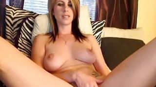 Image: Hot Webcam Girl Orgasms Hard With Hitachi