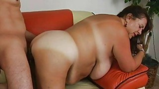 Man fingers and fucks snatch of one_chubby woman image
