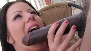 Klaudia Hot Gets Some Big Black Cock image