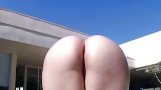 Alexis Texas giant ass tease and blowjob image