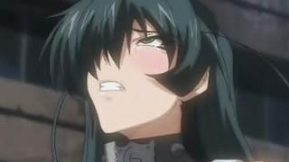 Caught hentai girls gets fucked image